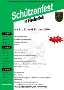 Plakat Schützenfest 2016 Vers. 2 Bild